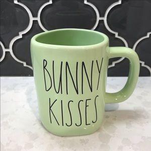 RAE DUNN Bunny Kisses mug